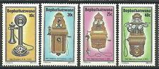 Bophuthatswana - Geschichte des Telefons (III). 1983 Mi. 108-111