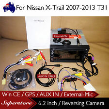 """6.2"""" Nav Car DVD GPS For Nissan X-Trail 2007-2013 T31 with AUX IN External-MIC"""