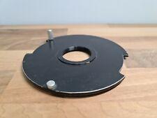 De Vere 504 Flat Enlarger Lens Mount Board114mm Flange Threaded 32.5mm Hole