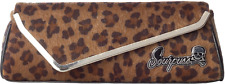 78092 Leopard Print Party Clutch Purse Sourpuss Pin-Up Rockabilly 50s Retro Punk