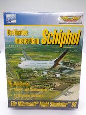 PC Spiel - Flight Simulator 98: Destination:Amsterdam Schiphol(OVP)(NEU)(Bigbox)