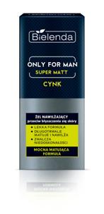 BIELENDA Only for Man SUPER MATT MOISTURIZING ANTI-SHINE GEL