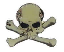 Skull Cross Bones Statement Hat Or Lapel Pin NOV343AD192