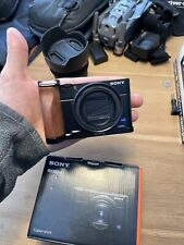 Sony Cyber-shot DSC-RX100 VII EXTRAS- 20.1MP Point & Shoot Digital Camera VLOG