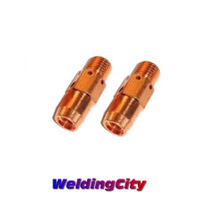 2-pk Gas Diffuser 55 55H 55SW for Tweco #5/#6 Lincoln 500-600A MIG Weldng Guns