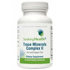 Trace Minerals Complex II - Iron and Copper Free - 30 veg caps - Seeking Health