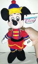 NUTCRACKER MICKEY MOUSE PLUSH DISNEY 23Cm. Peluche Topolino Minnie Pupazzo Toy