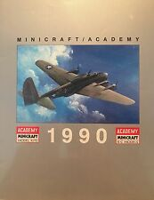MINICRAFT ACADEMY 1990 32 PAGE CATALOG OF PLASTIC MODEL KITS