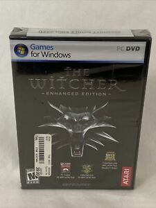 Atari THE WITCHER Enhanced Edition PC GAME Windows Vista XP Rated M+ NEW SEALED!