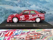1/43 Minichamps   Alfa romeo 155  V6  TI DTM 1994 Danner