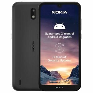 Nokia 1.3 4G 5.7'' Smartphone 16GB Dual Sim Unlocked Charcoal 8MP/5MP Android 10