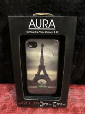 For iPhone 4 4S Eiffel Tower (Paris) Fitted Skin Protector Case Cover