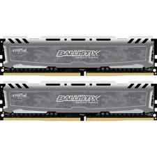 8GB (2x4GB) Ballistix Sport LT DDR4-2400 CL16 (16-16-16) RAM Kit