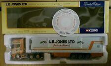 Corgi CC12908 Scania Topline Fridge Trailer L.E. Jones Ltd Ed. 0003 of 2900