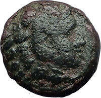 PHILIPPI in MACEDONIA 356BC Hercules Tripod Authentic Ancient Greek Coin i59746