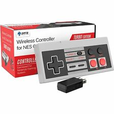 Ortz 2.4GHz Wireless Controller for the NES Classic Edition Gaming System Wii U