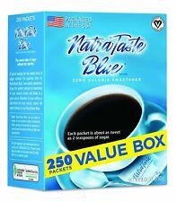 NatraTaste Blue Zero Calorie Sweetener, 250 Count Packets