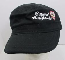 Carmel California Hat Cap Flattop Style Cadet USA Embroidery Unisex New