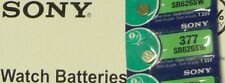 1 pile  SR 626 SW (377  Silver oxyde Battery 1,55 V  SONY + cadeau