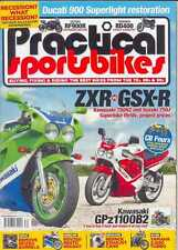 Practical Sportsbikes August 2015 Honda Cb900f Suzuki Ts125x Kawasaki Gpx750