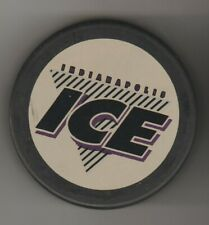 Indianapolis Ice Bud Icey Logo InG Ihl Hockey Puck Older Slovaki