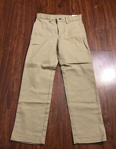 Wonder Nation Boys School Uniform Twill Chino Pants Size 7