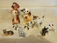 Vintage Dog Figurine Lot