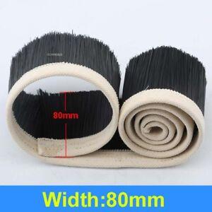 80mm Nylon Brush Vacuum Cleaner Engraving Machine Dust Cover CNC Router 1 Meter