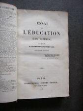 COMTESSE DE REMUSAT   ESSAI SUR L'EDUCATION DES FEMMES  de 1842