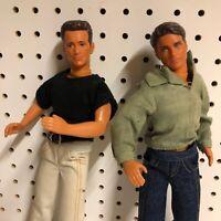 Dylan Mckay Luke Perry Brandon Walsh Jason Priestley Action Figure Dolls