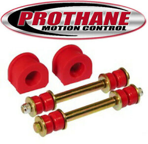 "Prothane 7-1104 GM 2WD 82-04 Front Sway Bar & End Link Bushings Kit 1-1/16"" Bar"