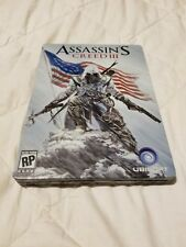 Assassin's Creed 3 Collector's Steel Book Case (NO GAME, CASE ONLY)