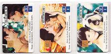 3 TELECARTE / PHONE CARD .. FRANCE 50U PACK FAMILLE GDF - EDF 1992  PUCE C.27€