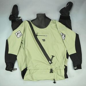 Palm Immersion Drysuit Sidewinder & Stohlquist Fleece Suit Liner Kayak • Small