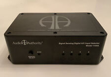 AUDIO AUTHORITY SIGNAL SENSING DIGITAL AV INPUT SELECTOR - MODEL 1154