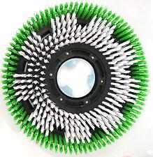 Tellerbesen für einscheibenmaschine CT17 Wirbel grün/weiß 16 zoll