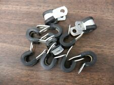 """Lot Of 10 Black Adel Exacto An Ms Side Clamps 1/4 in .25"""" wide"""