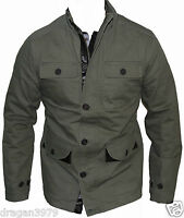 New Ben Sherman Mens Jacket Size M in Green Colour