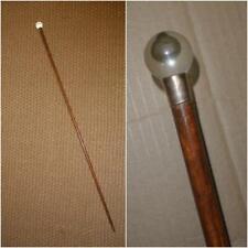 Vintage Style Brass Silver Men/'s Head en bois Bâton de marche//Canne Arbre Poignée