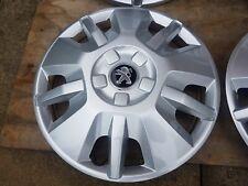"Single Original Peugeot Boxer 15"" Wheel Trim Radkappe x1 NEU"