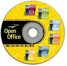 ✔ OPEN Office Paket PREMIUM für Windows 8 7 Vista XP ✔ Schreibprogramme ✔ NEU