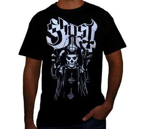 GHOST PUNK ROCK Black T Shirt