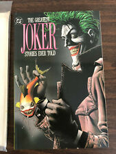 1988 DC Comics The Greatest Joker Stories Ever Told Volume 3 Softcover
