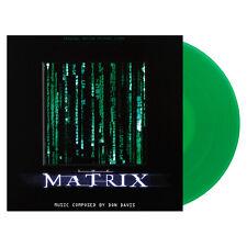 Don Davis The Matrix Soundtrack LP Green Vinyl Newbury Comics Exclusive