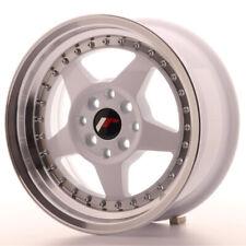 Japan Racing JR6 Alloy Wheel 15x7 - 4x114.3 / 4x100 - ET35 - White