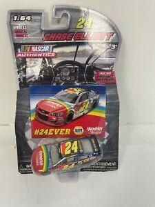 *NEW* Chase Elliott 2016 Nascar Authentics Wave 11 #24Ever 1/64 Diecast Car Card