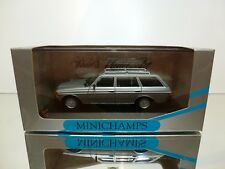 MINICHAMPS 32211 MERCEDES BENZ  230TE BREAK W123- SILVER 1:43 - VERY GOOD IN BOX