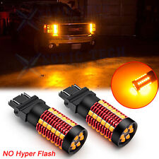 For GMC Sierra 1500 2500 Yukon Savana 3157 LED Turn Signal Light Bulb Error Free