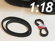 1/18 Scale Fan Belts with Sleeves