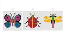 Mostaix Blue Series Insect Mosaic Craft Kit (Set Of 3)